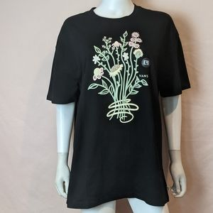 Vans Crafted Oversized Tee Black Large